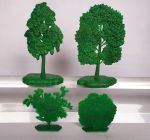 Trees and Bushes №2 - a set of 4 psc