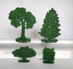 Trees and Bushes №1 - a set of 4 psc