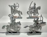 Mounted Cumans №2- a set of 4 psc