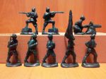 Red Army soldiers - a set of 8 pcs.
