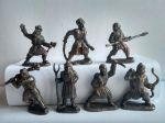 Rebel Peasants - a set of 7 pcs.