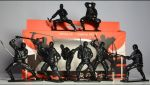 Ninja - the soldiers of the night (a set of 8 pcs)