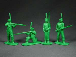 Russian grenadiers - 4 psc