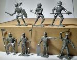 Toy soldiers Knights. Series II - 7 psc