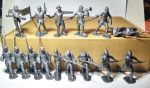 Toy soldiers American Civil War. Feds - 16 psc