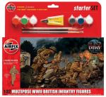 AIR55211 WWII British Infantry Multipose Starter Set