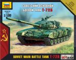 7400 Soviet Main Battle Tank T-72B