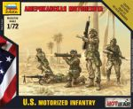 7407 U.S. motorized infantry
