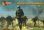 MAR72108 WWII German Panzergrenadiers