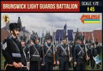 STR154 Napoleonic Brunswick Light Guards Battalion