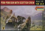 STR189 Pom-Pom Gun with Scottish Crew