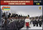 STR206 Austrian Grenadiers Winter Shoulder Arms