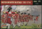 STR231  British Infantry in Attack 1701-1714